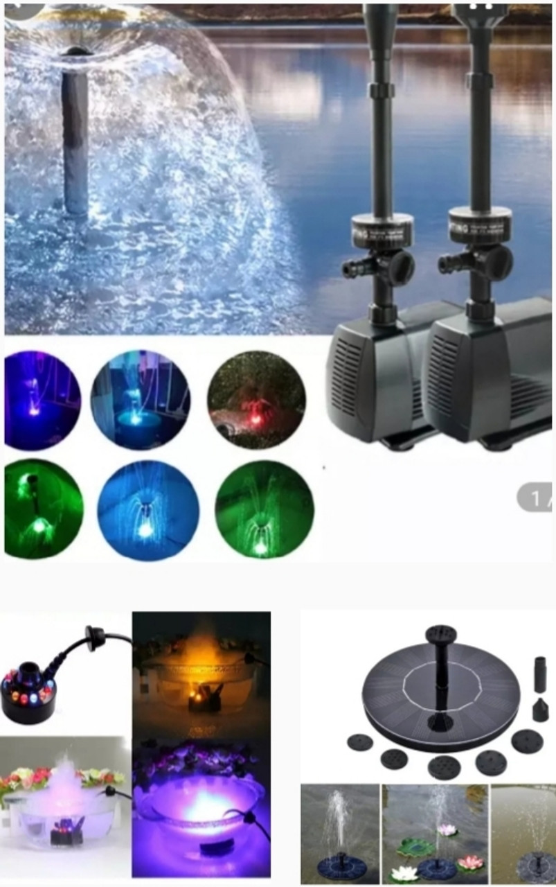 Fountains Accessories